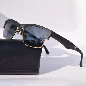 K2 Black Smart Glasses One Key Answering Bluetooth Business Headset Glasses