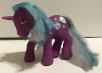 Vintage My Little Pony Sunshine Beachball Unicorn G1 1985 Color Changing Hair