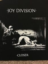 Joy Division Back Patch NEW Punk Post Punk Closer England Warsaw Unknown Pleasur