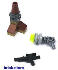 LEGO STAR WARS Figura 75023 / Geonosiano BLASTER CON PISTOLA Y ARMAS Soporte