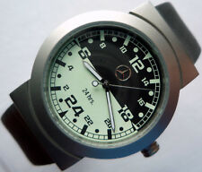 Mercedes Benz 24 Hour Military Dial Classic Car Accessory Sport Design Watch