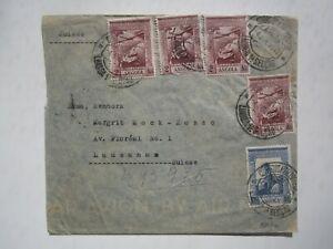 1946 ANGOLA COVER to SWITZERLAND