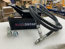 5 Star Air Foot Pedal Hydraulic Pump Frame Machines Shop Presse Hose Coupler