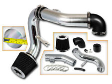 BCP BLACK 05-10 Chevy Cobalt 2.2L/2.4L L4 LT LS Sport Cold Air Intake +Filter