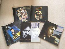 Bundle job lot Cliff Richard show tour programmes