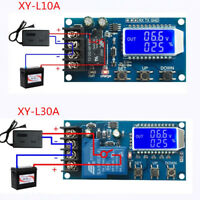 XY-L10A/30A Lithium Battery Charge Controller Protection Board 6-60V LCD Display