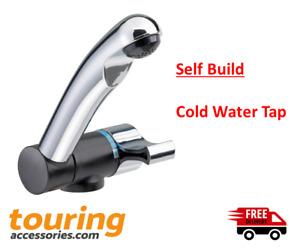 Cold Tap Style 2005 Chrome Camper 12V microswitch Caravan Motorhome - Self Build