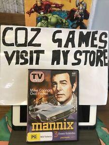 Mannix 3 Classic Episodes DVD Region All