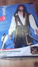 Halloween High Seas Pirate Fancy Dress Costume New