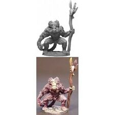 Armorcast Lance and Laser Fantasy Mini 28mm Baboon Shaman Pack MINT