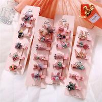 Baby Headwear Cute Hair Clips Accessories For Kids Children Hair Clip 6Pcs/set