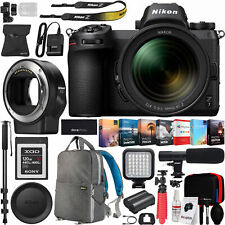Nikon Z7 FX Mirrorless Camera & NIKKOR Z 24-70mm f/4 S Lens + FTZ Adapter Bundle