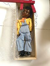 EXCELLENT VINTAGE IN BOX HAZELLE'S MARIONETTES RARE LITTLE BLACK SAMBO #807