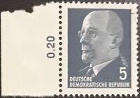 DDR #582 MNH CV$0.25 [Left Denomination Selvage #3]