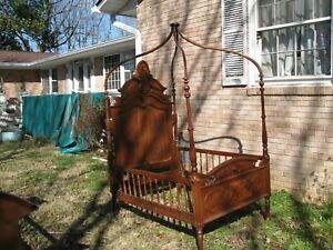 antique walnut victorian furniture beds