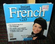 INSTANT IMMERSION: FRENCH VER. 2.0, 2-DISC PC CD-ROM FOR WINDOWS/MAC, BEG/INT.
