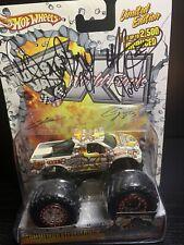 Hot Wheels Monster Jam Truck World Finals XI 2010 Las Vegas WITH AUTOGRAPHS