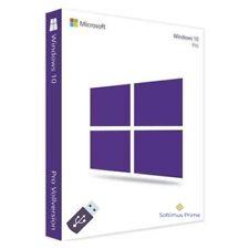 Microsoft Windows 10 Pro Vollversion 32-Bit OEM USB-Stick + Product Key Win 10