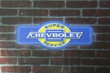 Chevrolet chevy super service bar led lighted neon sign shop garage home decor