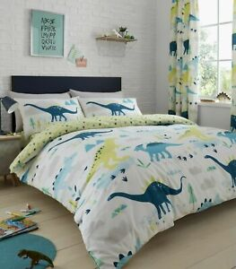 Bedlam Dino Glow in the dark  Reversible Duvet cover set and Accessories