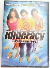 Idiocracy ~ 2006 ~ Luke Wilson ~ Movie Comedy DVD