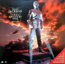 MICHAEL JACKSON - Video Greatest Hits History  Laser Disc