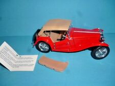 FRANKLIN MINT 1948 MGTC ROADSTER 1: 24 SCALE