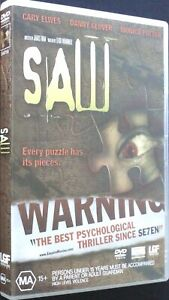 Saw - DVD - Region 4 - PAL - Excellent Condition - Free Post