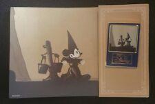 Japan Mall - Art of Disney - Fantasia Sorcerer Mickey & Broom LE 200 Pin