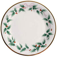 Mikasa Ribbon Holly Dinner Plate 390975
