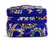 Vera Bradley Iconic Jewelry Train Case Romantic Paisley Travel Cosmetic Bag NWT