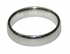 Platinum Men's Band Ring Size 9.75
