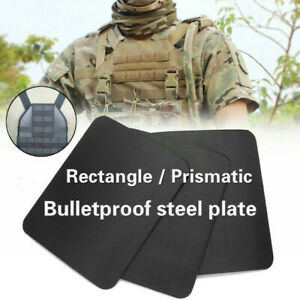IIIA Stand Alone Safety Trauma Pads Body Armor Police Bulletproof Steel Plates
