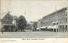 Vermont, VT, Randolph, Main Street UDB (pre-1907) Postcard