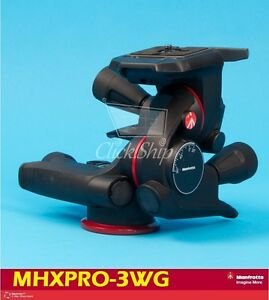 Manfrotto MHXPRO-3WG Geared 3-Way Pan/Tilt Head Mfr # MHXPRO-3WG