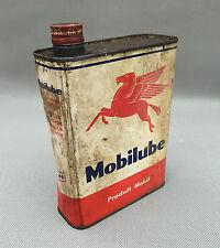 alt Kanister Öl mobilub Vakuum Deko Garage vintage französisch Antik