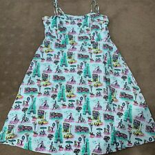 City Chic Rockabilly Dress Size M 18 Excellent Condition