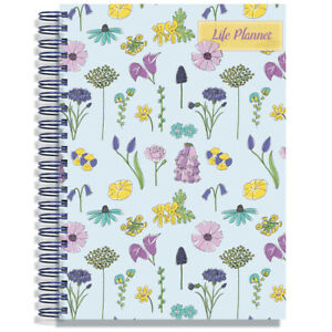 Unique A4 Life Planner   August 2020-2021   Choice of Cover Designs