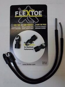 Ice Hockey Goalie Pads Flex Toe Hook - Complete Flex Toe Hook System