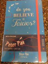 Moleskine Limited Edition Peter Pan Do you Believe in Fairies Hardcover Journal