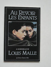 Screenplay AU REVOIR LES ENFANTS - Louis Malle - TPB