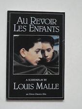 Screenplay AU REVOIR LES ENFANTS - Louis Malle - TPB
