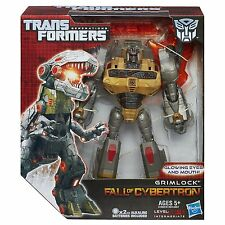 TRANSFORMERS GENERATIONS VOYAGER CLASS FALL OF CYBERTRON GRIMLOCK FIGURE