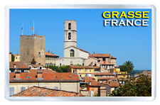 GRASSE FRANCE FRIDGE MAGNET SOUVENIR IMAN NEVERA
