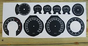 68-70 Road Runner Charger Super Bee Gauge Cluster Decal