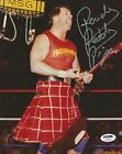 Rowdy Roddy Piper Signed WWE 8x10 Photo PSA/DNA COA Madison Square Garden Auto'd