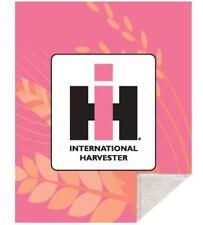 IH Pink Sherpa Fleece Blanket