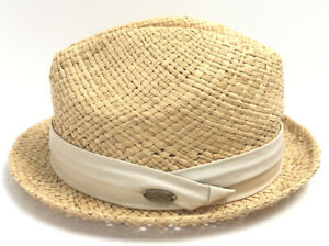 """Greg Norman """"The Shark"""" Straw Hat -One Size Fits Most Golf Fedora"""