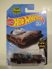 HOT WHEELS 2018 Batman *TV SERIES BATMOBILE* metallic black