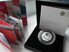 2016 UK 50p Silver Proof . Team GB. Only 4000 coins MINTED boxed/coa